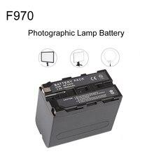 7800 mAh NP-F970 Перезаряжаемые литий-ионный Батарея для NP-F970 F960 фотографического светодиодный видео монитор для Светодиодный P260 YN600L II Luxpad23