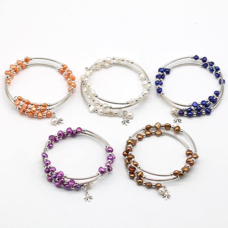 25 pearls bracelets FB18