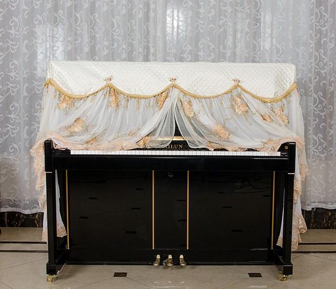 1 SATZ Spitzengarn Piano Suite European Styles Klavierbezug mit - Haushaltswaren - Foto 3