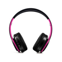 Wholesale free shipping Bluetooth Headphones Wireless Stereo Headsets with Mic Support TF Card for iPhone Samsung Calls