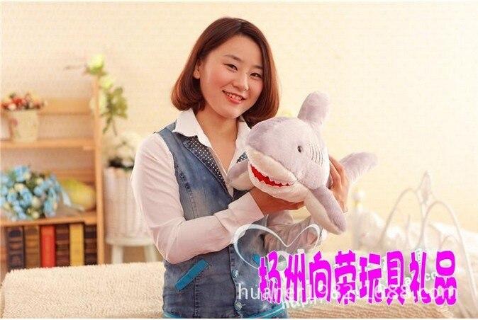 120 cm-baleine requin jouet poupée bébé dessin animé grande poupée petite amie cadeaux énorme animal en peluche - 5