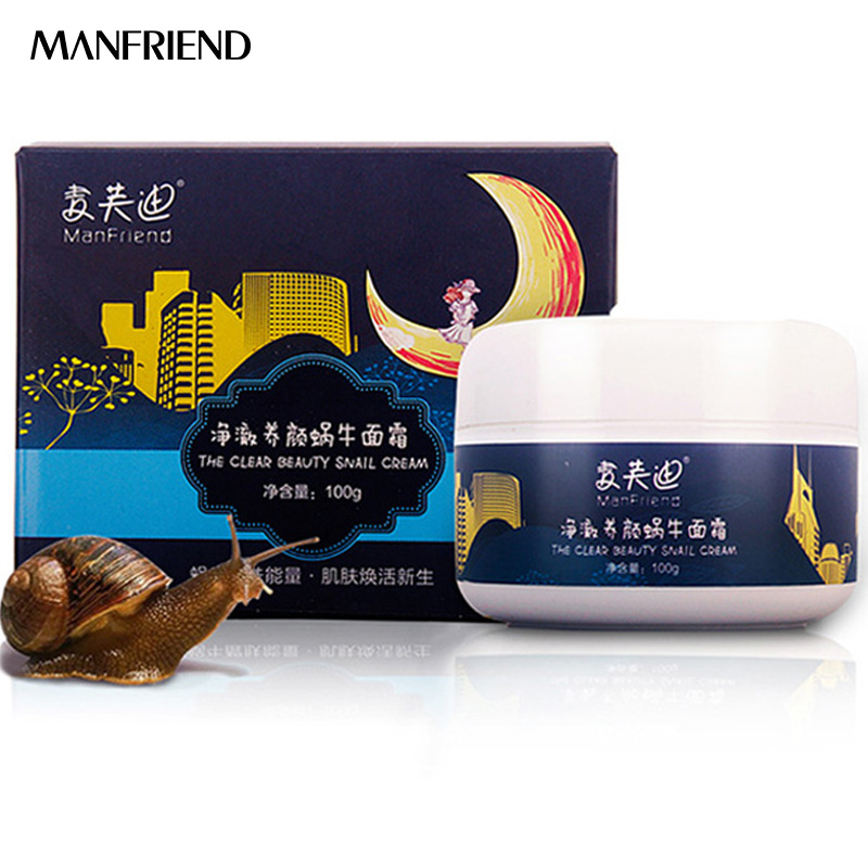 Snail Essence Firming Skin Care Face Cream Whitening Moisturizing Improve Dry Skin Anti wrinkle Anti Aging