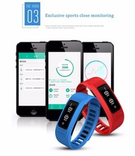 2016 New Sport Bluetooth Health Smartband Heart Rate Monitor Smart Bracelet Pedometer Tracking Calorie Health Sleep Monitor H6