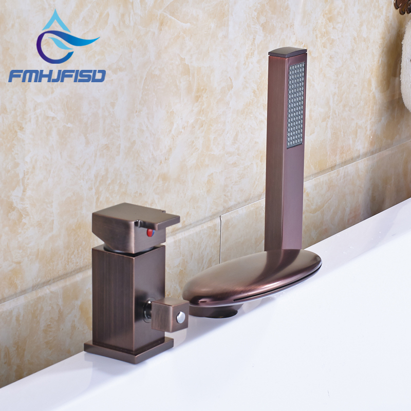 Promotion Bath & Shower Faucet with Hot Cold Water Taps Oil Rubbed Bronze