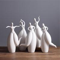 ハイグレード現代世帯セラミックフィギュア彫刻家の装飾、リビングルーム装飾