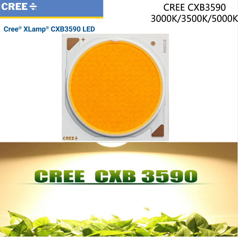 Lights & Lighting Professional Sale Cob Led Grow Chip Full Spectrum Cree Cxb3590 100w 12000lm 3500k Replace Hps 200w Growing Lamp Indoor Led Plant Growth Lighting Keep You Fit All The Time
