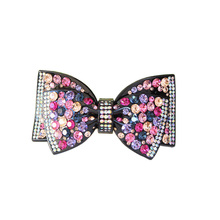 Luxury Acetate Cellulose Hair Clip With Rhinestone butterfly Hair Accessories Wedding for women Hair Jewelry Free Shipping gifts