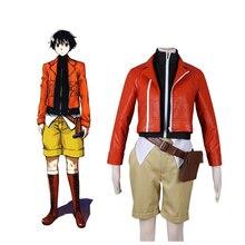 Anime Future Diary Amano Yukiteru Mirai Nikki Cosplay Costume Full Set