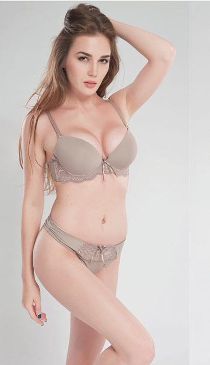 Back To Search Resultsunderwear & Sleepwears Classic Brand Khaki Color Bra Sets Sexy Lace Bralette Push Up Bras For Women Smooth Solid Cup C D E Lingerie Secret Luxury Bh B9 At All Costs