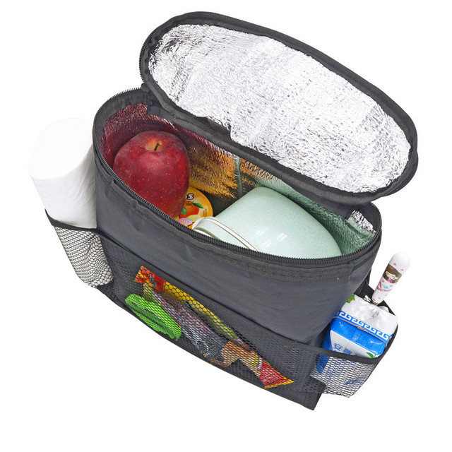Bag Package Refrigerator For Car Seat Back Hanging Insulation Thermal Lunch Boxes Shoulder Bag Outdoor Nevera Picnic Camping Bag