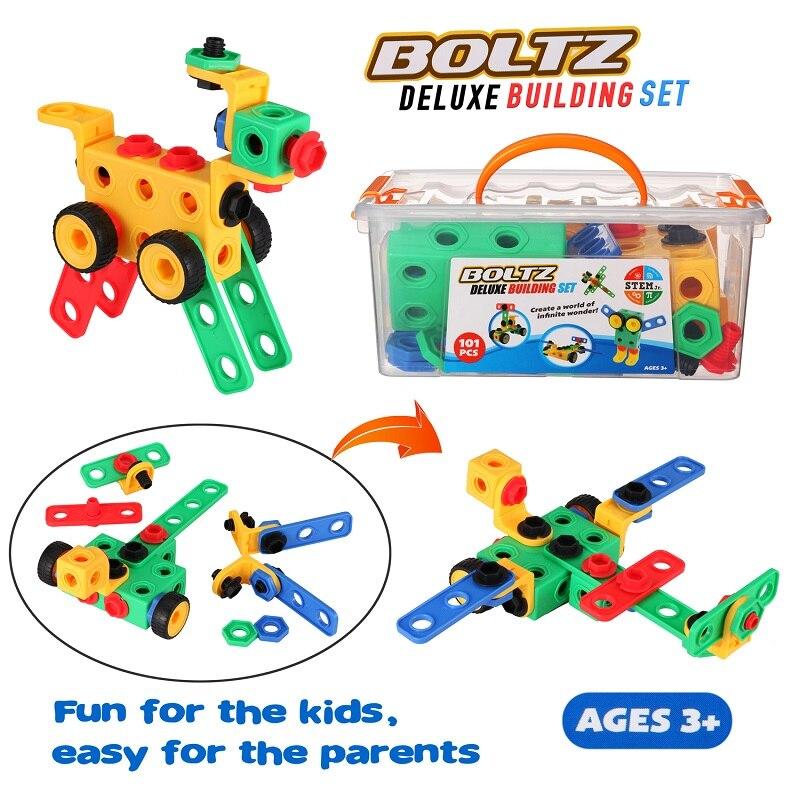 brinquedos kit de construção educacional engenharia blocos