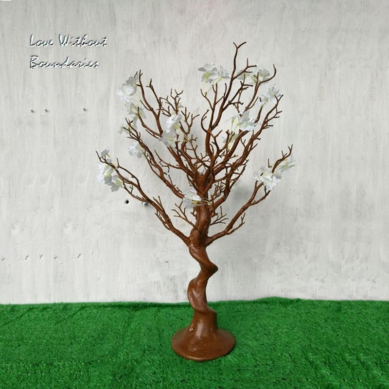 Simulation, arbre de noël blanc, branche de tige, tronc, résine de protection de l'environnement, 8 couleurs peuvent choisir - 5