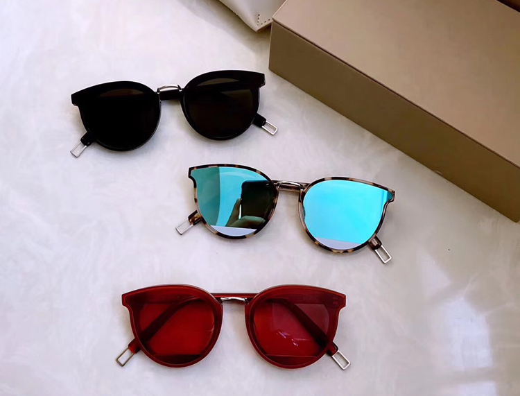 2018 Vintage Round Sunglasses Women Gentle Brand PCH Designer Retro Coating Sun Glasses Female Oculos De
