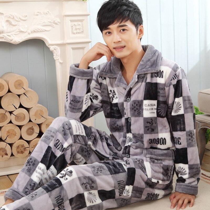 Popular Mens Fleece Pajamas-Buy Cheap Mens Fleece Pajamas lots ...