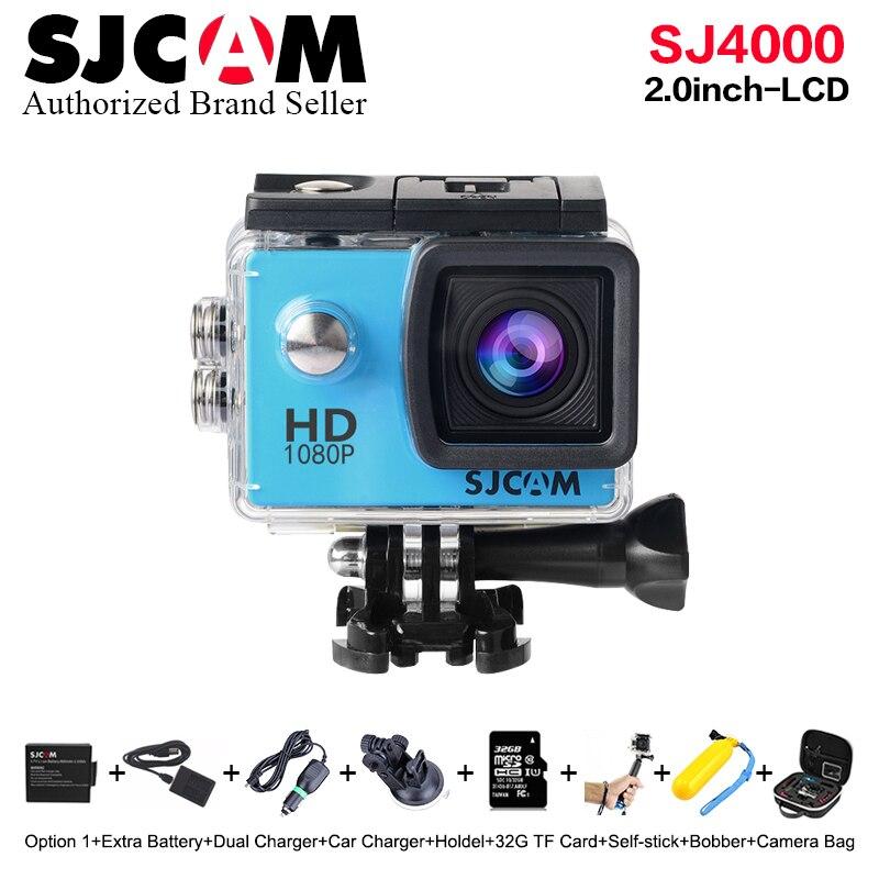 New !Original SJCAM SJ4000 Action Camera 2.0 LCD Screen Sports DV 1080P HD Underwater 30M Waterproof mini Camcorder sj M10 Cam