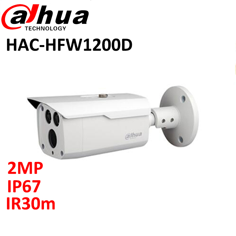 DAHUA HDCVI 1080P Bullet Camera HAC-HFW1200D 1/2.7 2Megapixel CMOS 1080P IR 80M IP67 security camera dahua hdcvi 1080p bullet camera 1 2 72megapixel cmos 1080p ir 80m ip67 hac hfw1200d security camera dh hac hfw1200d camera