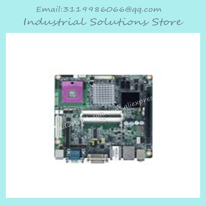 AIMB-258G2 Core Duo Dual Core Mini-itx Computer Motherboard 100% tested perfect quality m945m2 945gm 479 motherboard 4com serial board cm1 2 g mini itx industrial motherboard 100