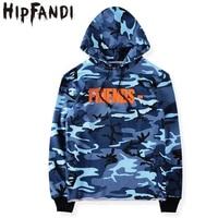 New Streetwear Citi Trends 2016 Kpop Clothes Harajuku Urban Clothing Hoodies Men Camo Box Logo Vlone