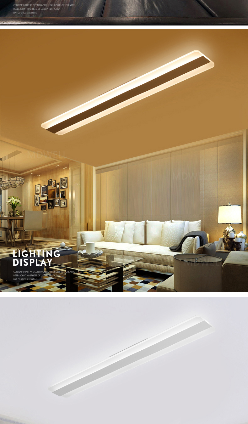غرفة lamparas السقف تيكو 3