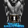 SUNMAS Massagem Elétrica Sem Fio UNIDADE DEZENAS Eletroterapia Treinamento Muscular ABS Ajuste Massageador Estimulador Muscular
