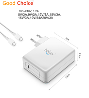 Helper 15W 45W 60W USB Type C PD Wall Charger Fast Charging Power Adapter for HUAWEI MateBook Lumia 950 950XL Nexus 5X 6P