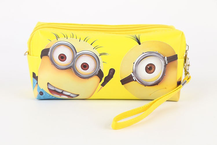 Children's Dispicable Me Minion Character Pencil Case Back To School Stationery