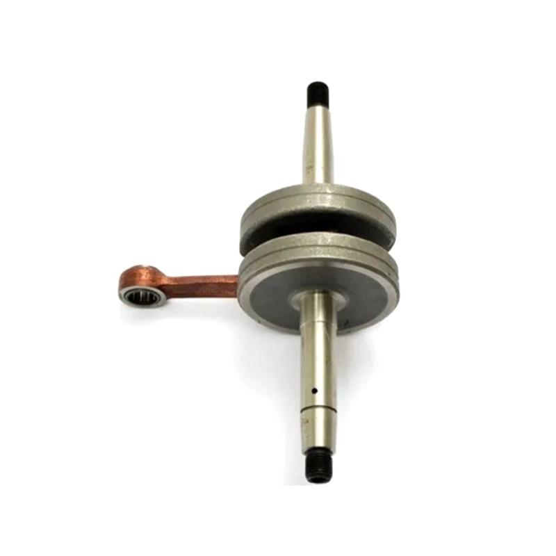 Crankshaft for Mobilete AV10 Engine Better Performance Reduces Engine Vibration Aluminum Material 50CC