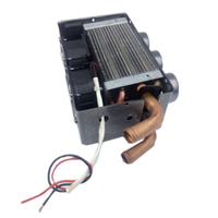 High Quality 12V 24W Portable Compact 3 Hole Car Heating Heater Defroster Demister Real time heating