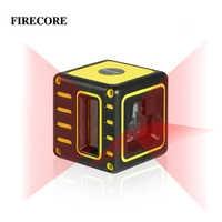 FIRECORE F212R ミニポータブル 3 ラインレーザーレベル 2V1H セルフレベリング (3 度) 水平と垂直線