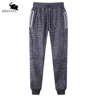 2017 New Spring Autumn Fashion Men S Pants Male Casual Cotton Fleece Sweatpants With Light Reflective