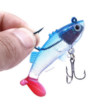 1 piece / soft bait 6 cm 8.5 8 g 15 package lead fish artificial fishing gear