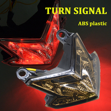Motorcycle Turn Signal Lights Triangle LED Sequential Signals Indicators FOR for kawasaki zx-6r /zx636 /z800 2013-2014 MOTO