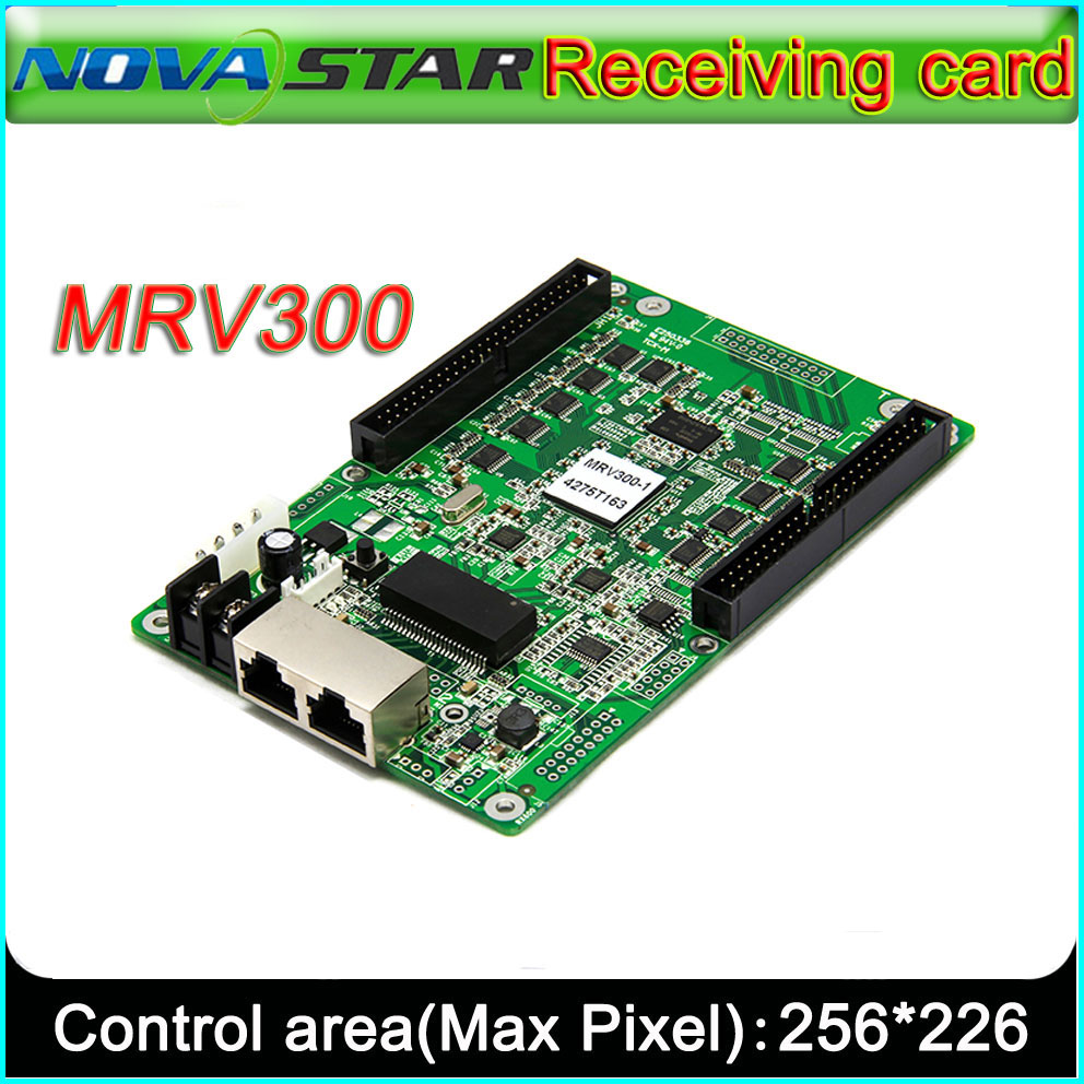 NOVASTAR MRV300 LED Display receiving Card,Outdoor and Indoor Full Color P2.5-P10-P20 LED Video Display Synchronous controller