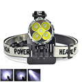 5T6 Bike Light T6 LED Headlamp 6000 Lumen Bicycle Accessories Front Light+ 6400mAh Battery Pack & charger