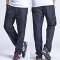 2017 New Quick Dry Men's Active Pants Outside Plus Size 6XL Long Men Pants Active Elastic Waist Men Exercise Pants ,PA214