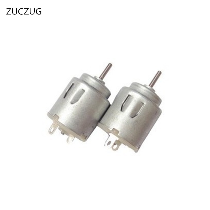 ZUCZUG 3v permanent magnet generator there brush dc motor 6000 RPM electric motor Micro motor Toy motor