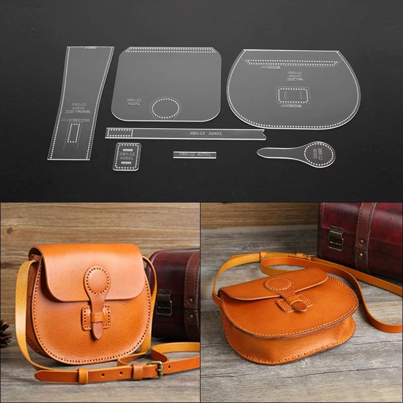 Leather Craft Handbag Sewing Pattern