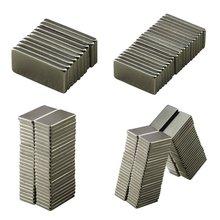 10 шт. 20x10x2 мм Сильный Блок кубовидной Магниты на Холодильник редкоземельных Неодимовый Массовая Простыни мини маленький диск магнитные материалы дома