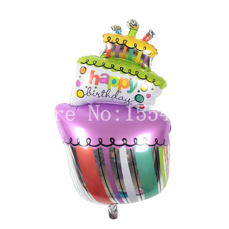 10354 cm Birthday Big cake large Happy Birthday Candle inflatable