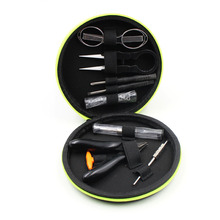 Ecig Tool Mini Portable E Cigarette Tool Bag Multi-functional Coil Smart Vape Pocket from Amphisbaena Tool kit for wire coil DIY