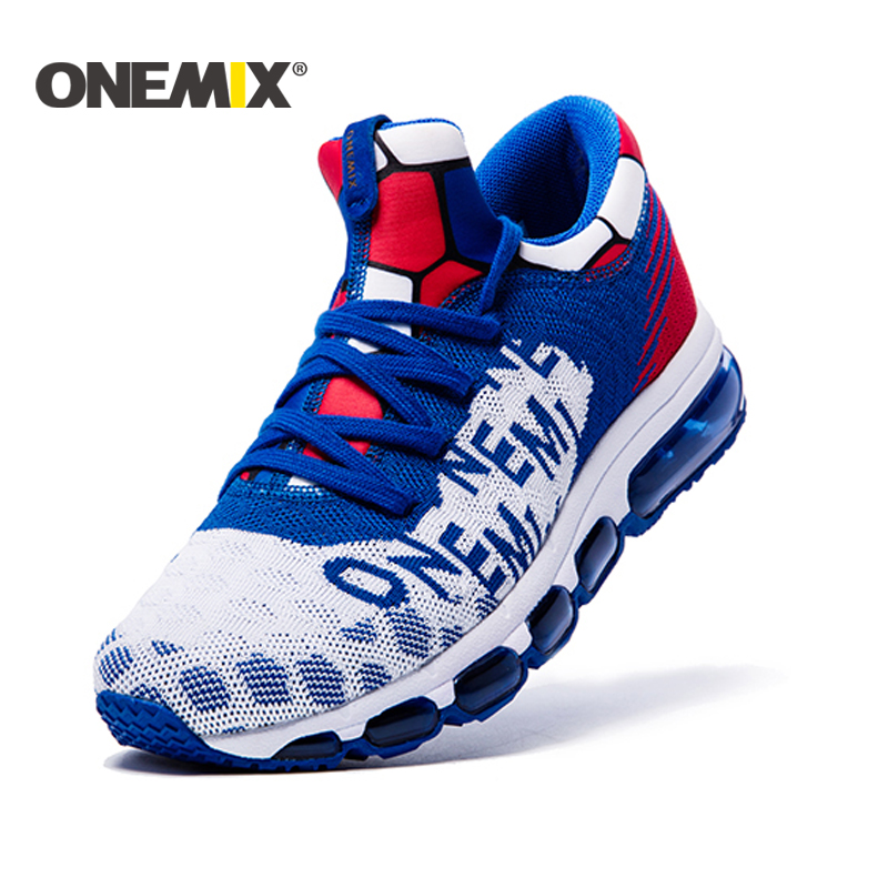 ONEMIX 2017 Men's running Shoes Air Cushion Outdoor Sport shoes Sneakers Male Athletic Shoes zapatos de hombre Men jogging shoes 2017brand sport mesh men running shoes athletic sneakers air breath increased within zapatillas deportivas trainers couple shoes