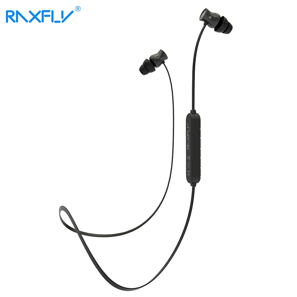 RAXFLY Bluetooth Earphone For IOS 7 Android 4.3 Above Stereo Wireless Earphones For iPhone Samsung Xiaomi Headset Microphone