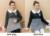 Cálido, Además de Terciopelo Camiseta de Maternidad Vestido de Embarazo Tops Lactancia Materna Enfermería Invierno Falso de Dos Piezas de La Raya de Empalme Vestir