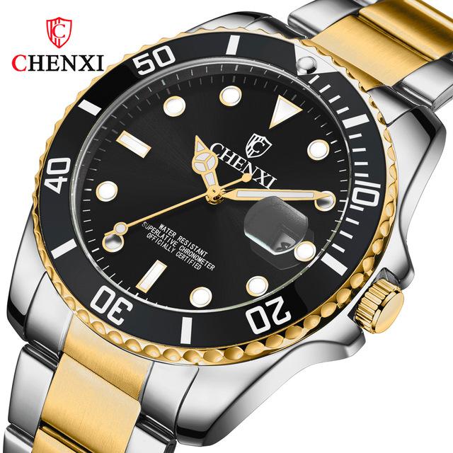 new fashion men's quartz watch waterproof watch casual sports watch men's watch three colors optional