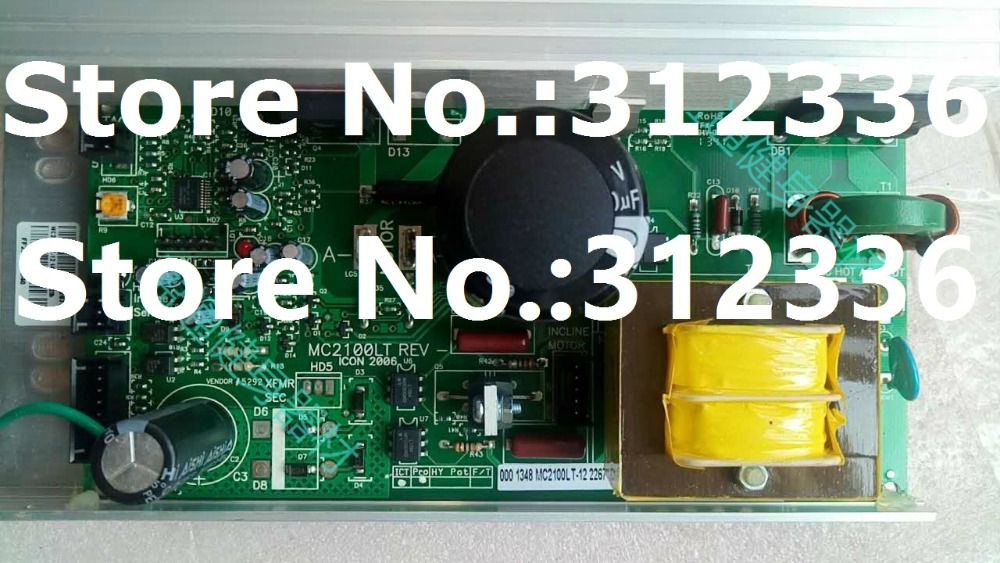 Free Shipping MC2100LT Motor Controller Control panel driver treadmill circuit board motherboard suit family treadmill wire feeder control panel board nbc350 500 igbt module control gas welding motherboard repair replacement