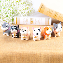 Ceramic Simulation Dog Ornaments Famous Crafts Living Room Partitions Decorated Childrens Birthday Gifts