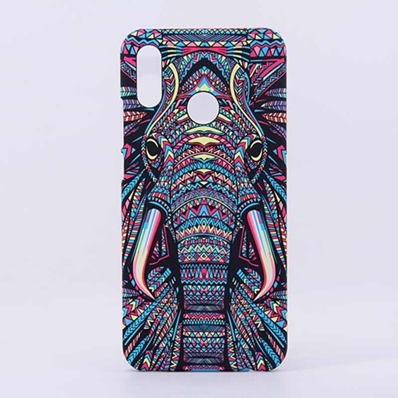 Case For Xiaomi Redmi Note 7 Cover TPU Animal 3D relief night glow Hard phone case For Xiaomi Redmi Note 7 Pro case kimTHmall
