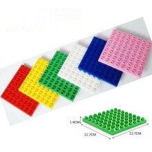 1pcs Big Blocks Base Plate 8 8 dots Baseplate 100 Compatible with Duploe Kids Educational Brick