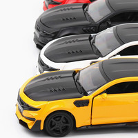 For Chevrolet Offroad Car Model Toy for Camaro Bumblebee Simulation Diecast Alloy Car Model 1:32 Scale Auto Toy Car Decoration