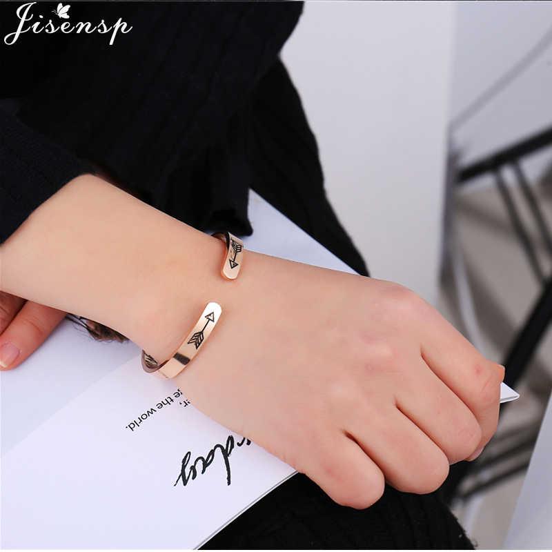 Jisensp Мода вдохновляющие продолжать идти манжеты Браслеты браслеты мотивационные друг поощрять Для мужчин t ювелирные изделия для Для мужчин Для женщин подарок